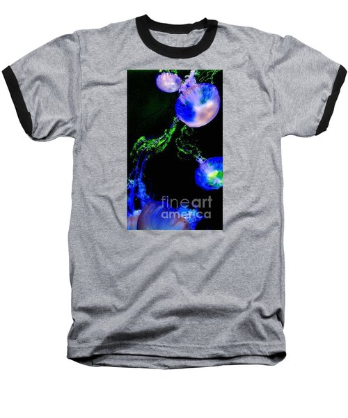 Baseball T-Shirt featuring the photograph Jellylights by Vanessa Palomino