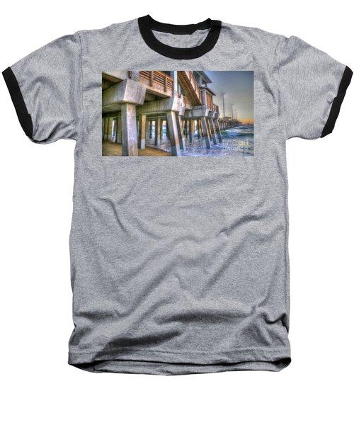 Jennette's Pier Baseball T-Shirt
