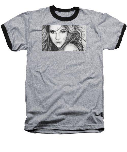 Jennifer Lopez Baseball T-Shirt