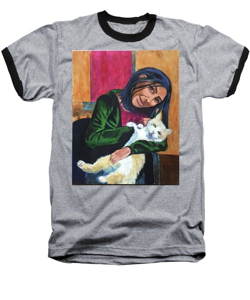 Jenny And Rogan Baseball T-Shirt
