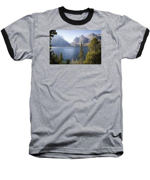 Baseball T-Shirt featuring the photograph Jenny Lake by Shirley Mitchell