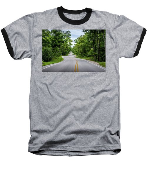 Jens Jensen's Winding Road Baseball T-Shirt