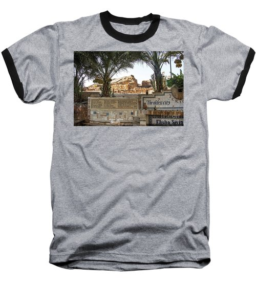 Baseball T-Shirt featuring the photograph Jerico by Mae Wertz