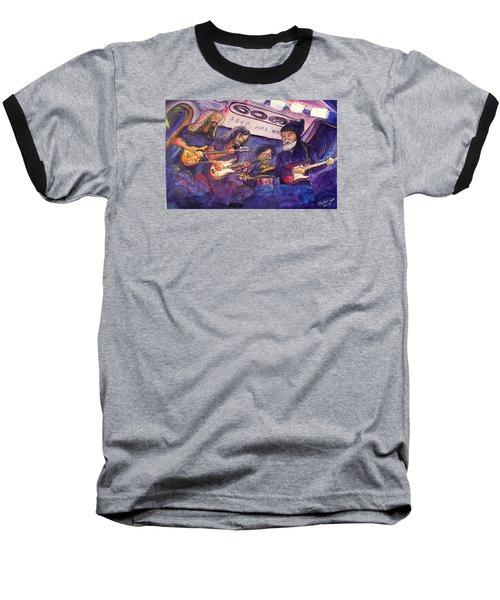 Jerry Joseph And The Jackmormons Baseball T-Shirt by David Sockrider