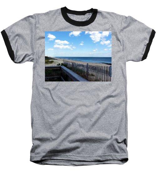 Jersey Shore Baseball T-Shirt by Judi Saunders
