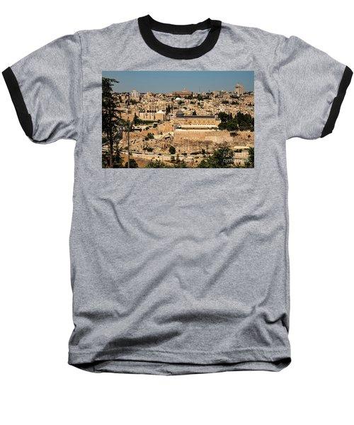 Baseball T-Shirt featuring the photograph Jerusalem by Mae Wertz