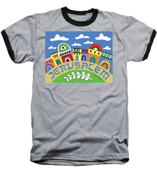 Jerusalem Baseball T-Shirt