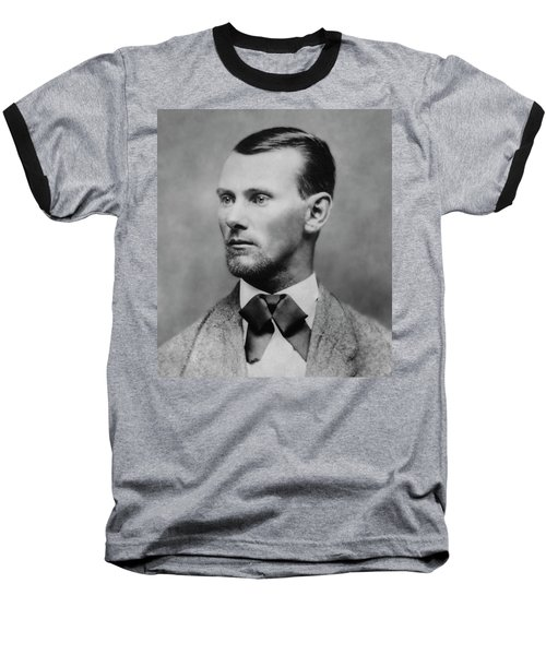 Jesse James -- American Outlaw Baseball T-Shirt