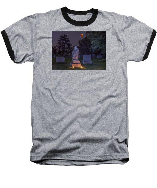 Jessie Monument Under The Blood Moon Baseball T-Shirt