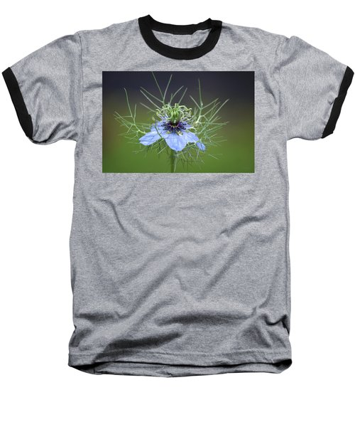 Jester's Hat Flower Baseball T-Shirt