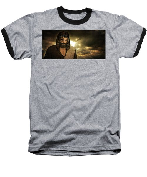 Jesus Christ- Will You Hear Me Shout Come Up Baseball T-Shirt