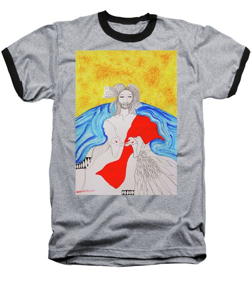 Jesus Messiah Second Coming Baseball T-Shirt