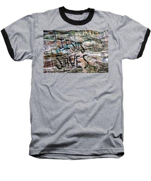 Jesus Saves Baseball T-Shirt