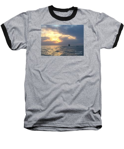 Watching Over The Inlet Baseball T-Shirt
