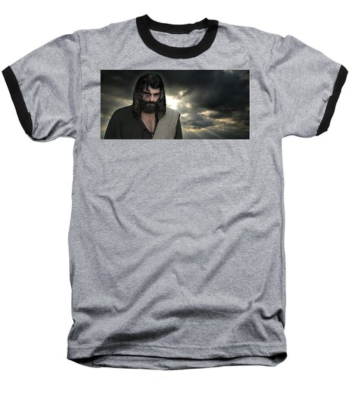 Jesus- Will You Hear Me Shout Come Up Baseball T-Shirt