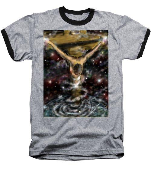 Jesus World Baseball T-Shirt