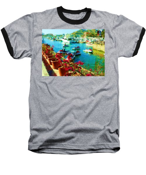 Jet Skis And Flowers Baseball T-Shirt