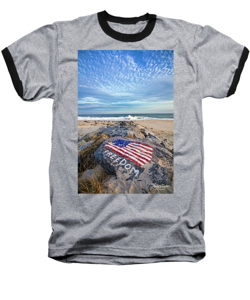 Jetty Four Beach Baseball T-Shirt