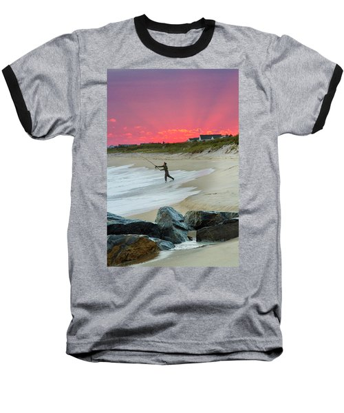 Jetty Four Fisherman Baseball T-Shirt