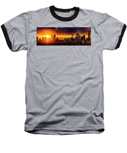 Baseball T-Shirt featuring the photograph Jewel Of The Foothills by John Poon