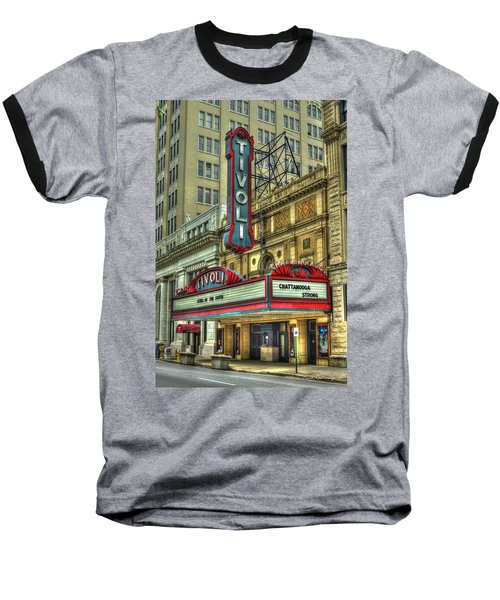 Jewel Of The South Tivoli Chattanooga Historic Theater Art Baseball T-Shirt