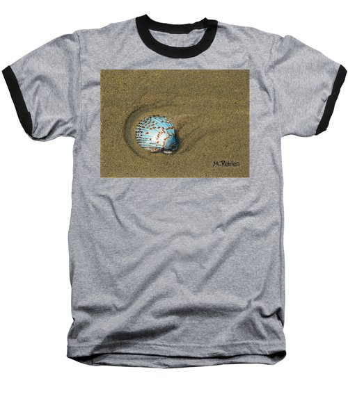 Jewel On The Beach Baseball T-Shirt by Mike Robles