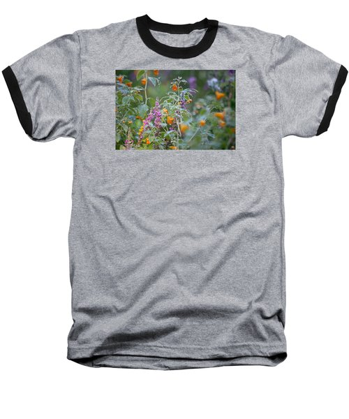 Jewel Weed With Dew Diamonds Baseball T-Shirt