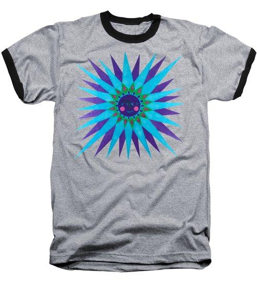 Jeweled Sun Baseball T-Shirt