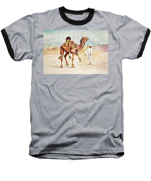 Jewellery And Trappings On Camel. Baseball T-Shirt