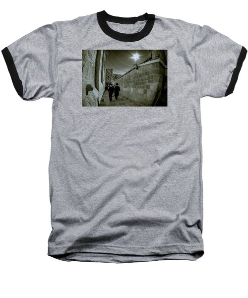 Jewish Promenade Baseball T-Shirt