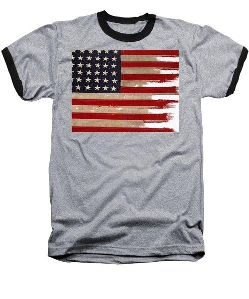 Jfk's Pt-109 Flag Baseball T-Shirt