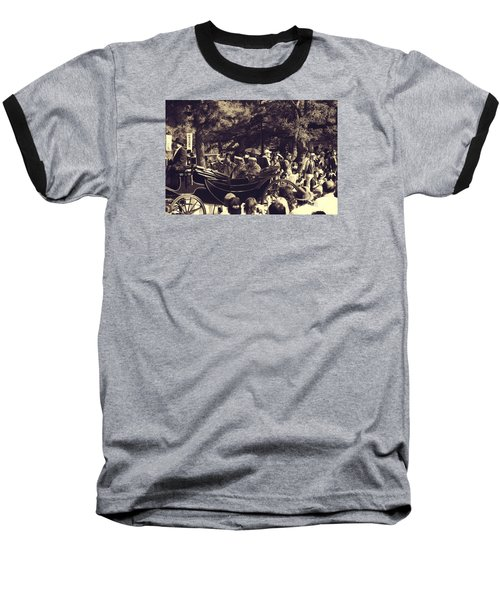 Baseball T-Shirt featuring the photograph Jidai Matsuri Xii by Cassandra Buckley