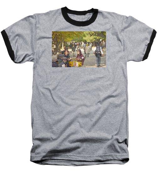 Jidai Matsuri Xxi Baseball T-Shirt by Cassandra Buckley