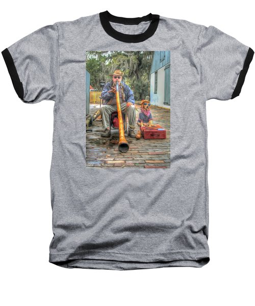 Jim Olds And Tanner Baseball T-Shirt by Marion Johnson
