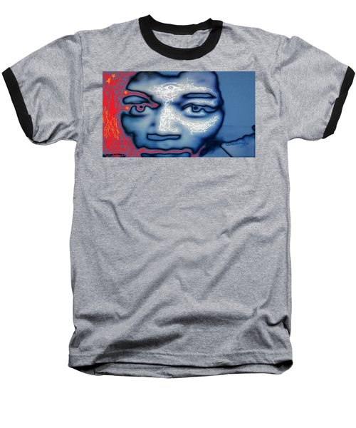 Jimi Hendrix Oh Say, Can You See The Rockets Red Glare Baseball T-Shirt