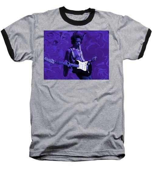Jimi Hendrix Purple Haze Baseball T-Shirt