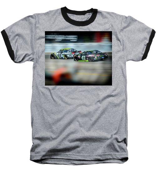 Jimmie Johnson Charging Ahead At Mis Baseball T-Shirt