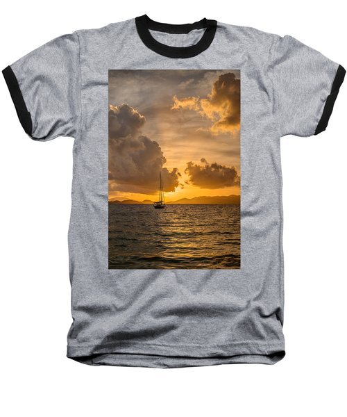 Jimmy Buffet Sunrise Baseball T-Shirt