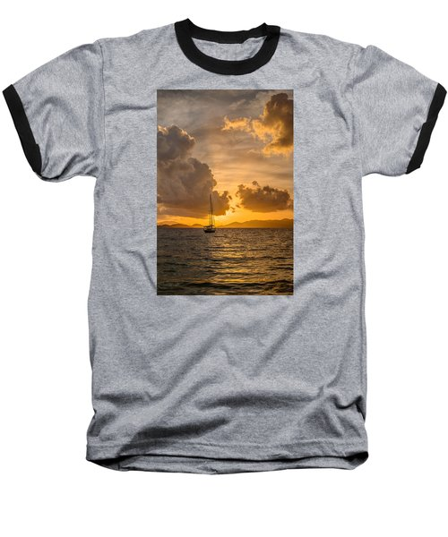 Jimmy Buffet Sunrise Baseball T-Shirt
