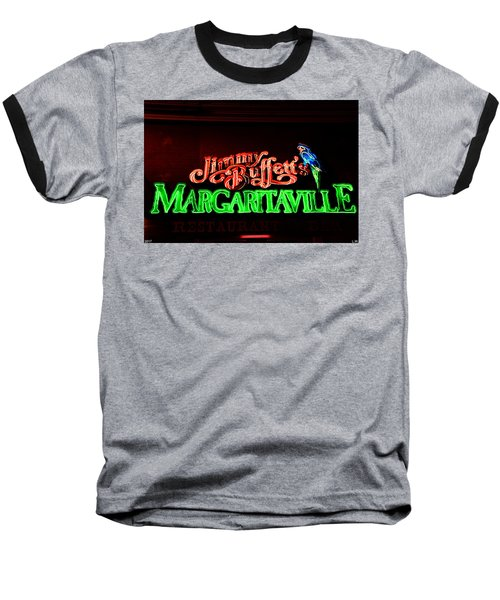 Jimmy Buffett's Margaritaville Baseball T-Shirt