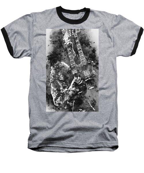 Jimmy Page - 02 Baseball T-Shirt