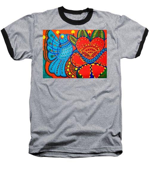 Jinga Bird - Jinga Bird Series Baseball T-Shirt