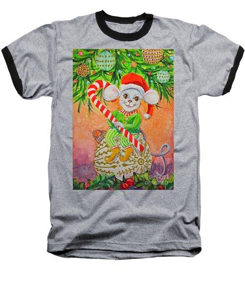 Jingle Mouse Baseball T-Shirt