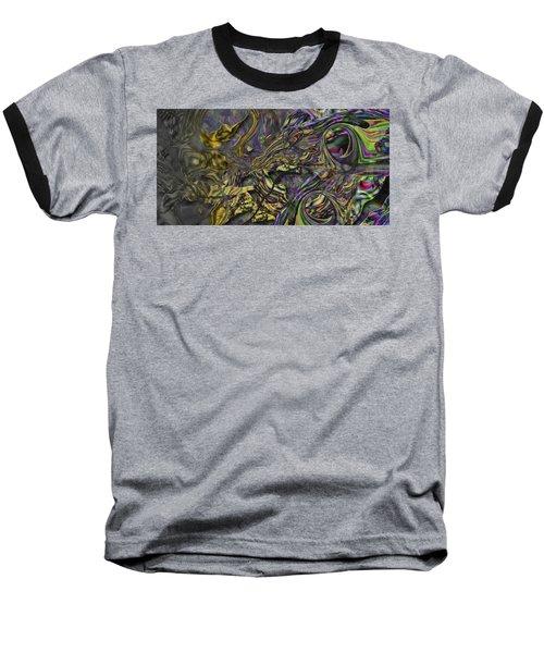 Baseball T-Shirt featuring the digital art Jingle Pete by Steve Sperry