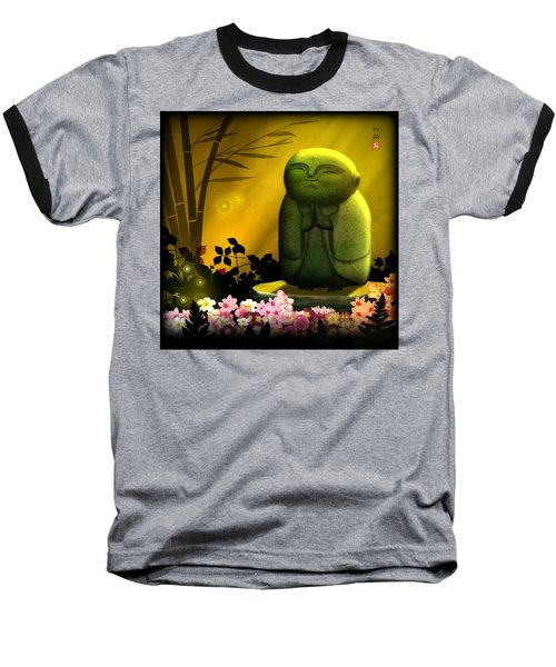 Jizo Bodhisattva Baseball T-Shirt