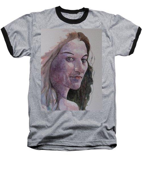 Joanna Baseball T-Shirt by Ray Agius