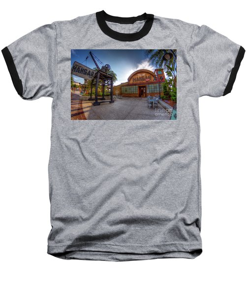 Jock Lindsey's Hangar Bar Baseball T-Shirt