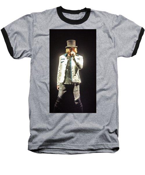 Joe Elliott Baseball T-Shirt by Luisa Gatti