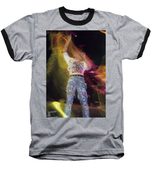 Joe Elliott Baseball T-Shirt by Rich Fuscia