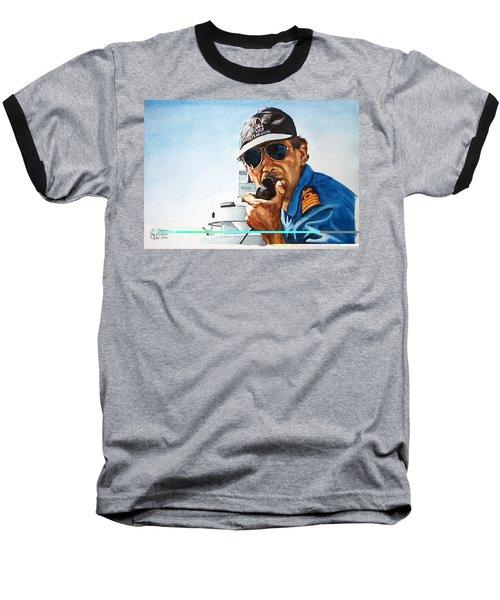 Joe Johnson Baseball T-Shirt by Tim Johnson